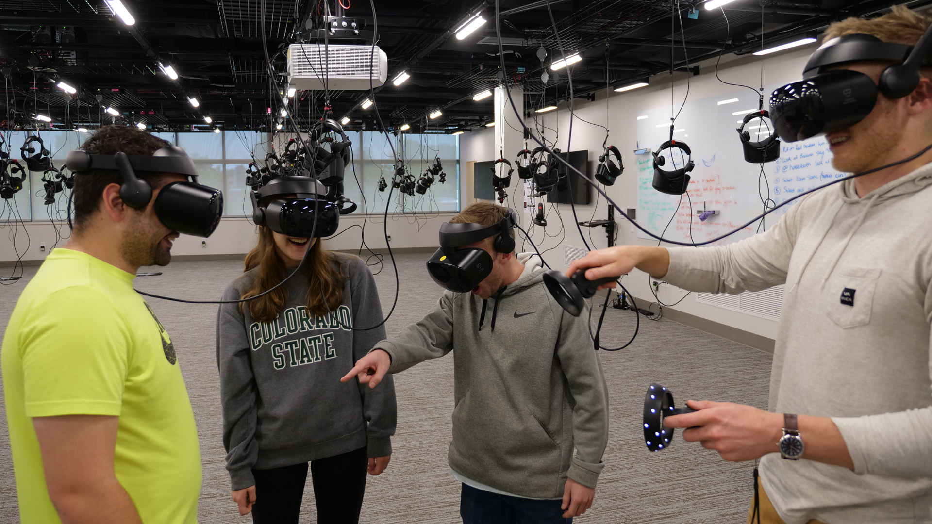 Colorado State University Has Deployed a 100 Headset VR Lab for Biomedical Education