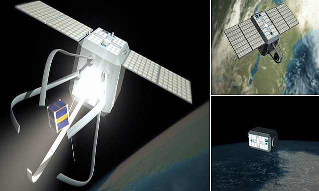 Space 'tow truck' will clean up Earth's orbit and remove defunct satellites