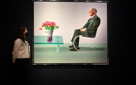 David Hockney work sold by Royal Opera House fetches £12.9 mn