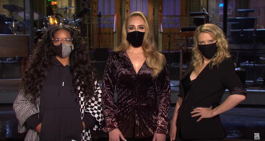'Saturday Night Live' Promo: Adele, Kate McKinnon & H.E.R., Masked & Confused