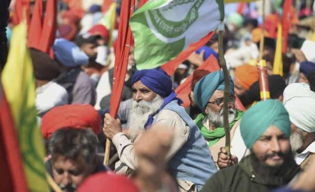 More Punjab farmers enter Haryana for `Delhi Chalo' protest