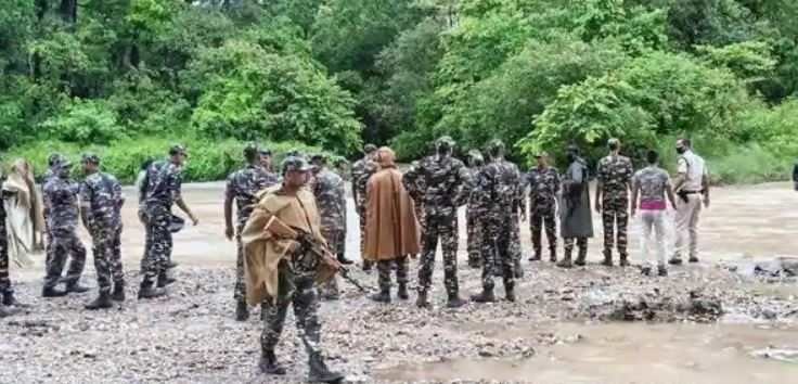 Security forces-Naxalite encounter in Jharkhand