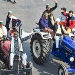 Tractors, farm tools turn temporary shelters for protesting farmers